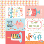 6X4 Journaling Cards Paper - Birthday Girl - Echo Park - PRE ORDER