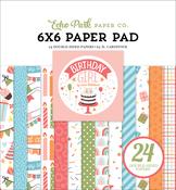 Birthday Girl 6x6 Paper Pad - Echo Park - PRE ORDER