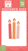 Girl Birthday Candles Die Set - Birthday Girl - Echo Park - PRE ORDER