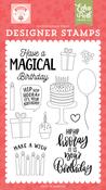 Magical Birthday Stamp Set - Birthday Girl - Echo Park - PRE ORDER