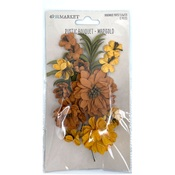 Marigold Rustic Bouquet - 49 And Market