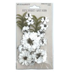 White Heron Rustic Bouquet - 49 And Market - PRE ORDER