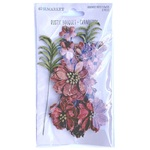 Cranberry Rustic Bouquet - 49 And Market - PRE ORDER