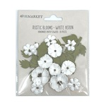White Heron Rustic Blooms - 49 And Market - PRE ORDER