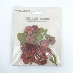 Cranberry Rustic Blooms - 49 And Market - PRE ORDER