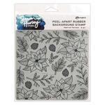 Festive Florals Cling Stamp - Simon Hurley create. - Ranger