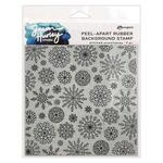 Stitched Snowflakes Cling Stamp - Simon Hurley create. - Ranger - PRE ORDER