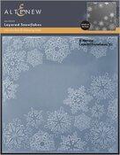 Layered Snowflakes 3D Embossing Folder - Altenew