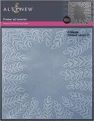 Frame of Leaves 3D Embossing Folder - Altenew