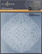 Diamond Mandala 3D Embossing Folder - Altenew