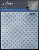 Basic Plaid 3D Embossing Folder - Altenew