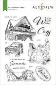 Cozy Winter Vibes Stamp Set - Altenew