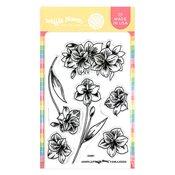 Amaryllis Stamp Set - Waffle Flower Crafts