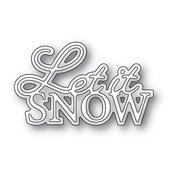 Let It Snow Posh Script Die - Memory Box - PRE ORDER