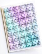 Geometric Crystals 3D Embossing Folder - Memory Box - PRE ORDER