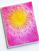 Stunning Mandala 3D Embossing Folder - Memory Box - PRE ORDER