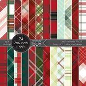 Christmas Jolly 6x6 Paper Pad - Memory Box - PRE ORDER