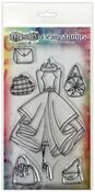 Ladies Who Lunch Couture Stamp Set - Dylusions - Ranger