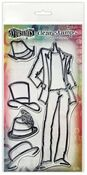 Man About Town Couture Stamp Set - Dylusions - Ranger