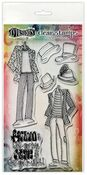 Man About Town Duo Couture Stamp Set - Dylusions - Ranger