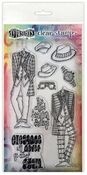 A Day At The Races Duo Couture Stamp Set - Dylusions - Ranger