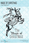 Magic of Christmas Clear Stamps - Yuletide - Blue Fern Studios - PRE ORDER