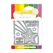 Star Wish Panel Die - Waffle Flower Crafts