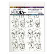Church Doodles Collage Tissue Paper - Dina Wakley - Ranger - PRE ORDER
