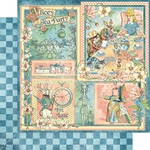Alice's Tea Party Paper - Alice's Tea Party - Graphic 45 - PRE ORDER