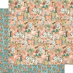 Curiouser Paper - Alice's Tea Party - Graphic 45 - PRE ORDER