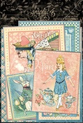 Alice's Tea Party Journaling Cards - Graphic 45 - PRE ORDER