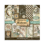 Alchemy 8x8 Paper Pad - Stamperia - PRE ORDER