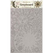 Sun And Moon Greyboard - Alchemy - Stamperia - PRE ORDER