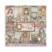 Lady Vagabond Lifestyle 6x6 Paper Pad - Stamperia - PRE ORDER