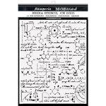 Formulas Stencil - Alchemy - Stamperia - PRE ORDER