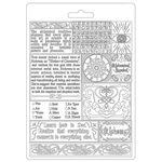 Writings A5 Soft Mould - Stamperia - PRE ORDER