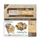 Klimt Exploding Box Kit - Stamperia - PRE ORDER