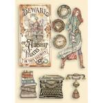 Typewriter Wooden Shapes - Lady Vagabond Lifestyle - Stamperia - PRE ORDER