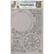 Alarm Clock Greyboard - Lady Vagabond Lifestyle - Stamperia - PRE ORDER
