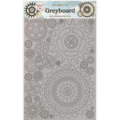 Gears Gauge Greyboard - Lady Vagabond Lifestyle - Stamperia - PRE ORDER
