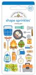 Camping Gear Shape Sprinkles - Doodlebug - PRE ORDER