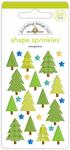 Evergreens Shape Sprinkles - Doodlebug - PRE ORDER