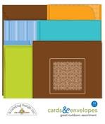 Great Outdoors Cards & Envelopes Set - Doodlebug - PRE ORDER