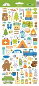 Great Outdoors Icons Sticker Sheet - Doodlebug - PRE ORDER