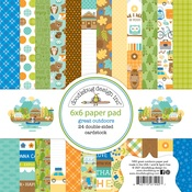 Great Outdoors 6x6 Paper Pad - Doodlebug - PRE ORDER