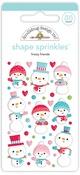 Frosty Friends Shape Sprinkles - Doodlebug - PRE ORDER