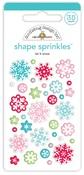 Let It Snow Shape Sprinkles - Doodlebug - PRE ORDER