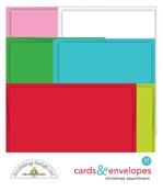 Christmas Assortment Cards & Envelopes - Doodlebug - PRE ORDER