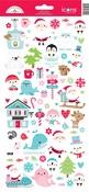 Christmas Icons Sticker Sheet - Doodlebug - PRE ORDER
