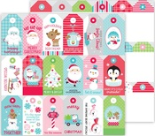 To & From Paper - Let It Snow - Doodlebug - PRE ORDER